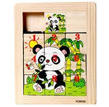 Wooden Sliding Puzzles