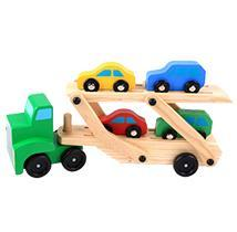 Wooden Truck and Car Block Toys