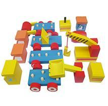 Wooden Toy Off-road Vehicle- Classic Truck/ Loader/ Excavator